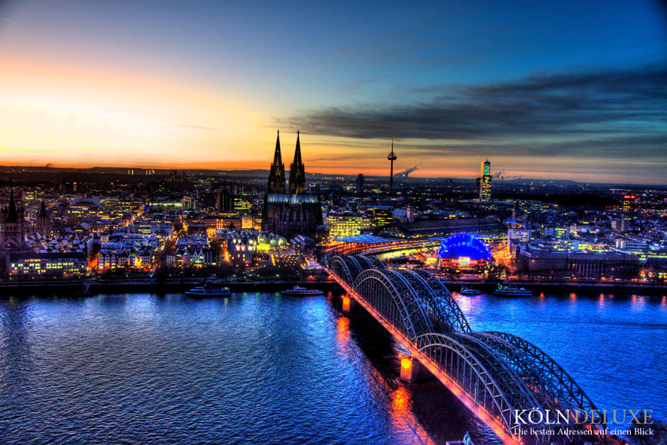 Köln in Zeitraffer