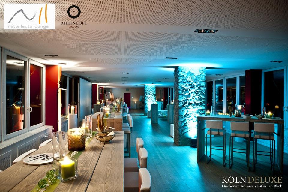 34. Nette Leute Lounge im Rheinloft Cologne am 11.04.2016