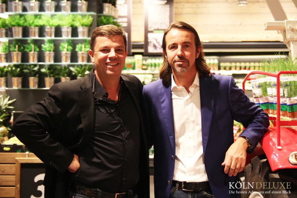 Luxus-Supermarkt Rewe in den Opernpassagen