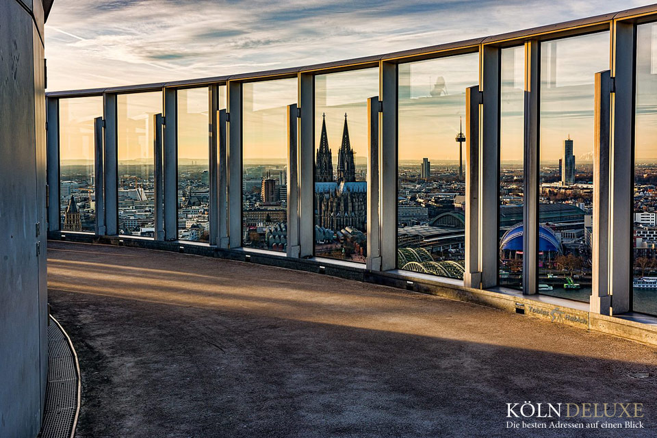 Exklusive Aussichtspunkte auf Köln © Tobias Habich