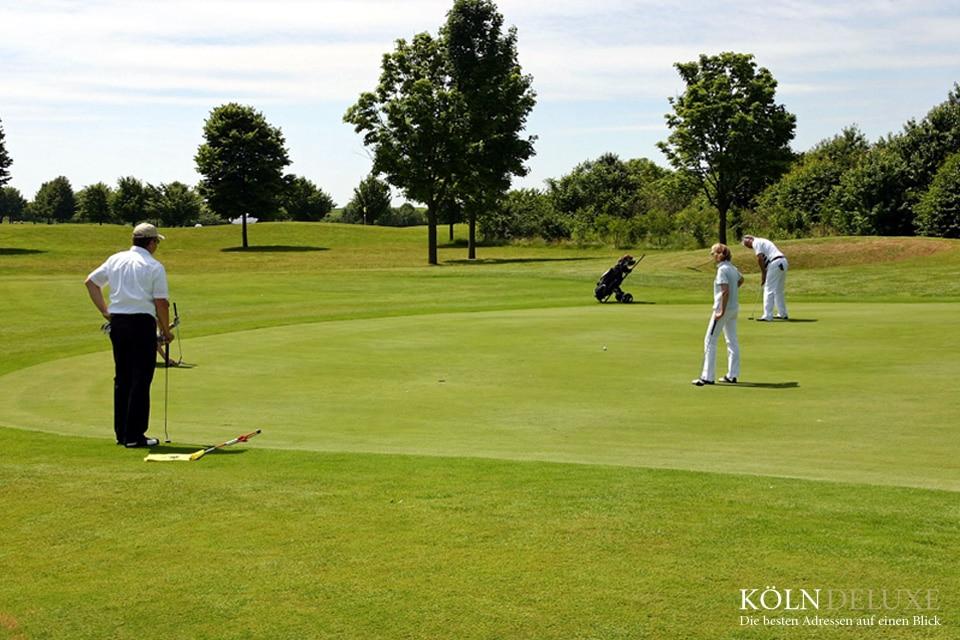Die schönsten Golfanlagen in und um Köln