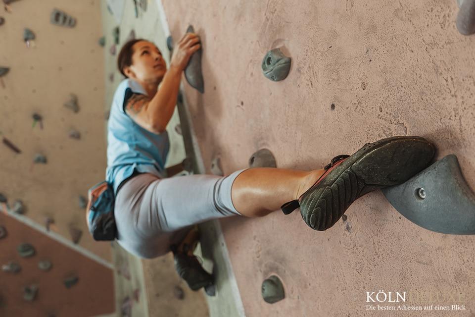 Klettern – hoch hinaus in Köln und Umgebung