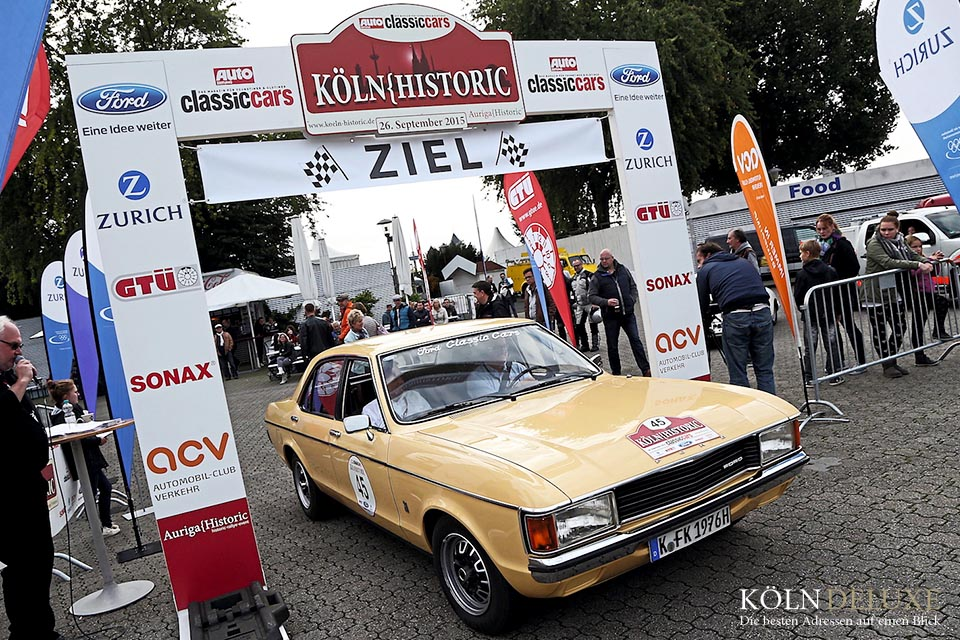 Köln Historic Rallye am 24.09.2016