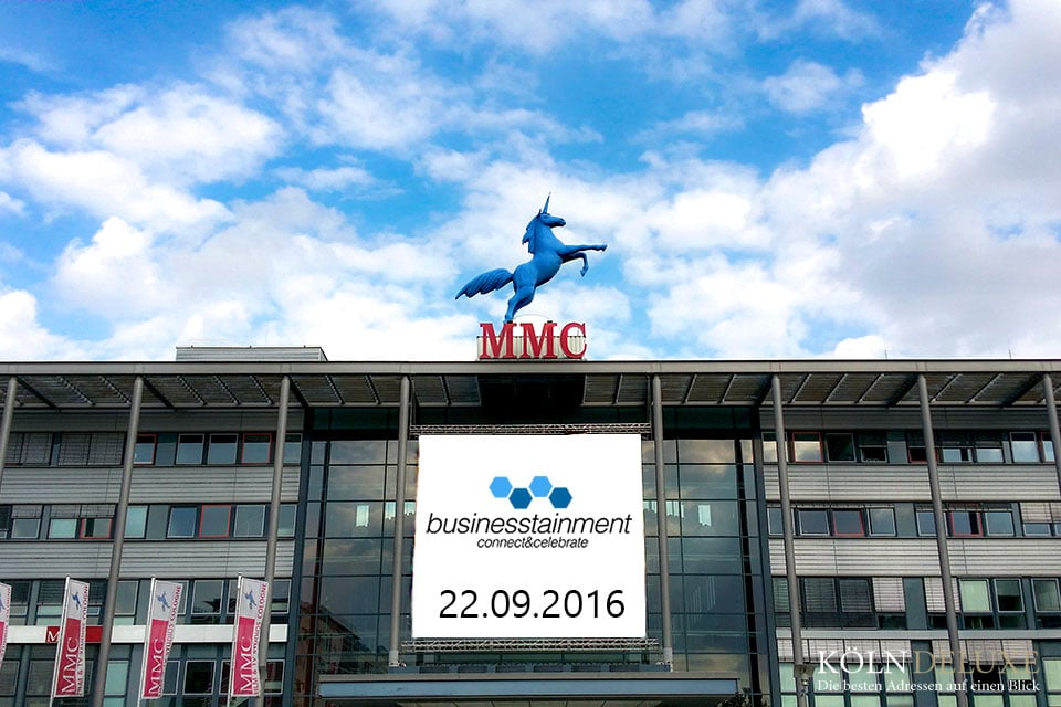 businesstainment – Event in den MMC Studios in Köln am 22.09.16