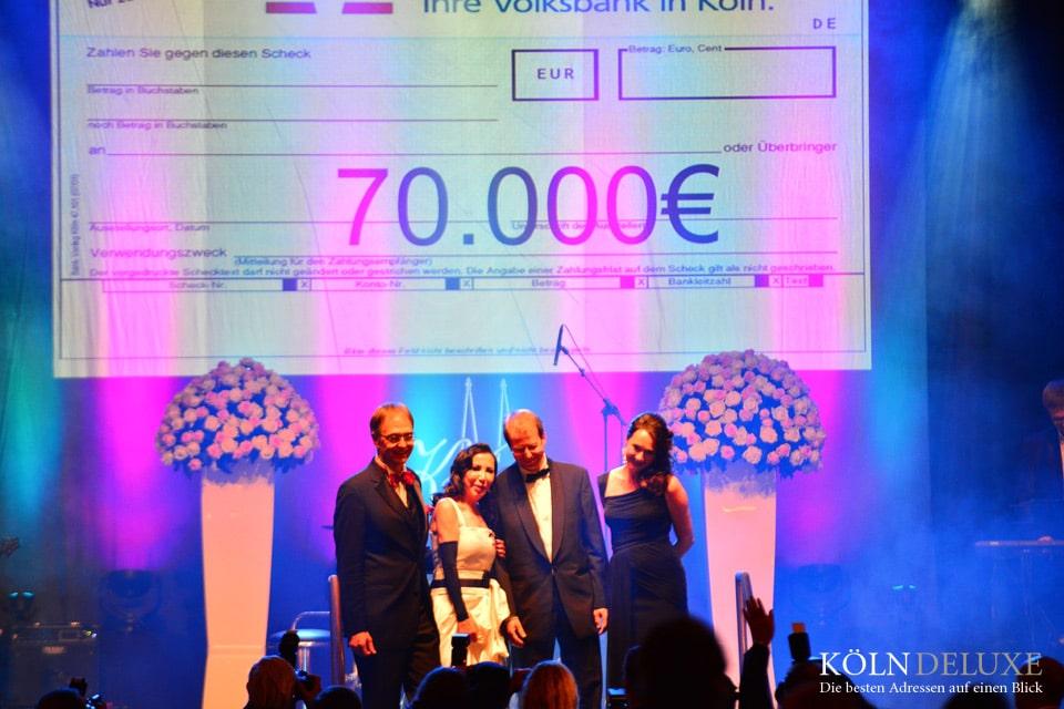 KölnBall 2016 spendet 70.000 Euro für die Kinderkrebsforschung!
