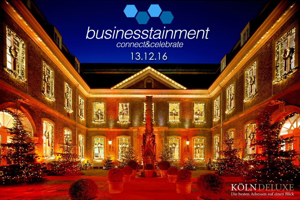 Businesstainment – X-Mas Event in der Wolkenburg am 13.12.16