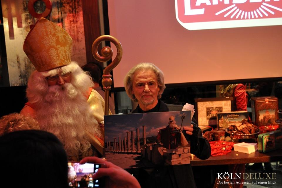 Lambertz Fine Art Kalender 2017 Präsentation am Nikolaustag in Köln