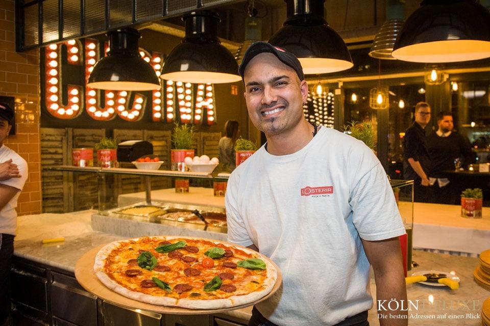 Die Restaurantkette L' Osteria eröffnet ein weiteres Restaurant in Köln