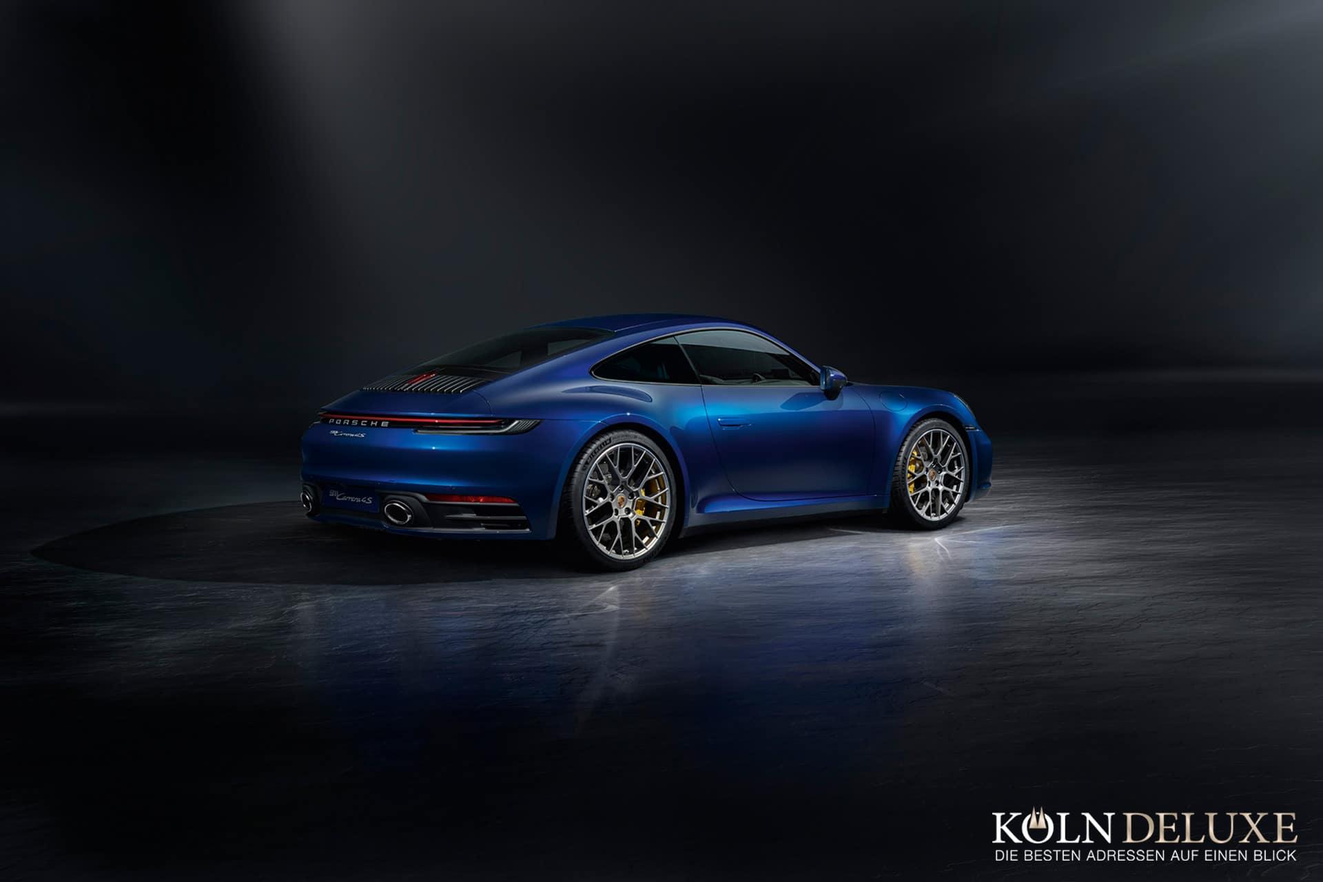 Der neue Porsche 911 – stärker, schneller, digital