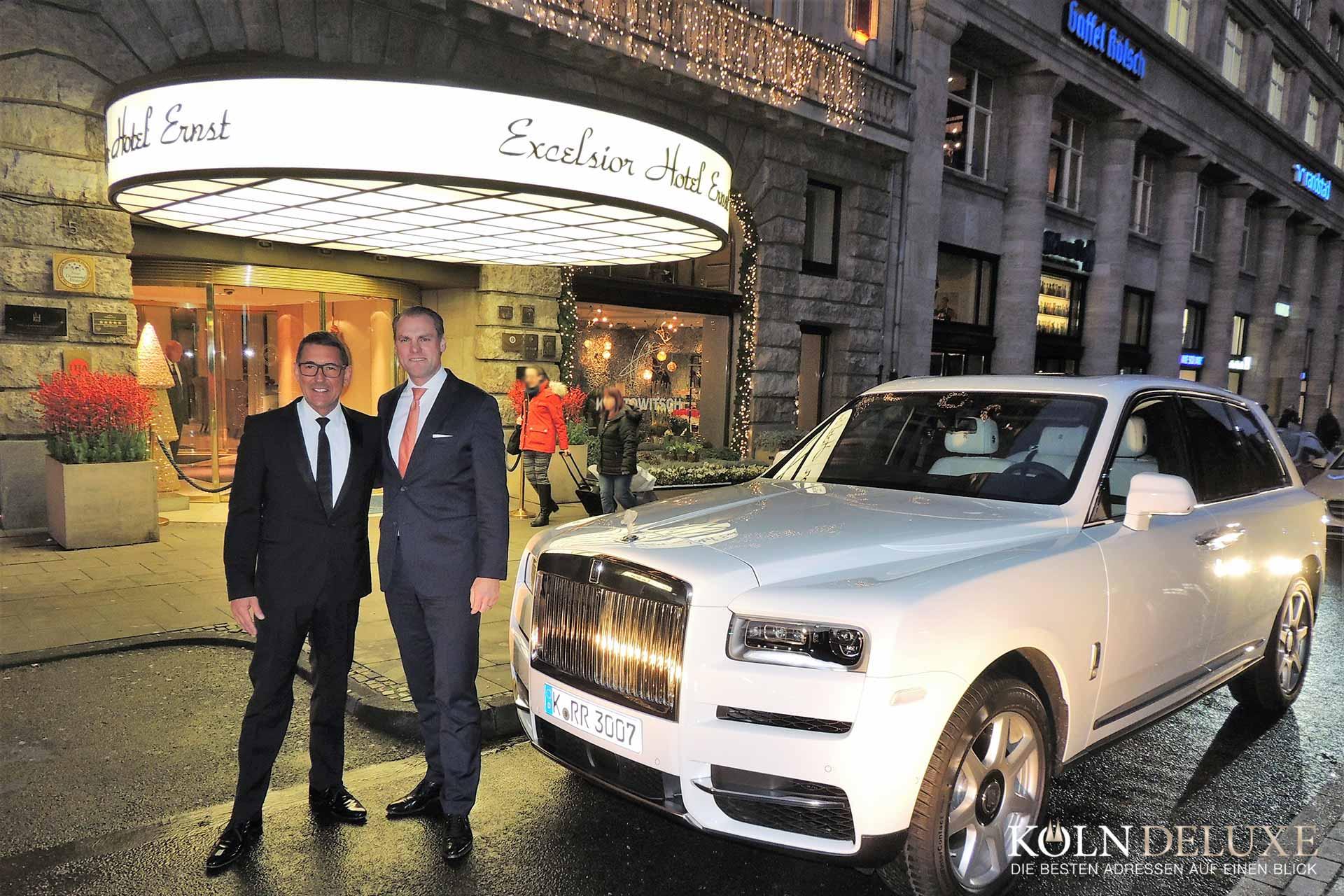 Rolls-Royce Motor Cars Cologne Präsentation des neuen Rolls-Royce Cullinan im Excelsior Hotel Ernst Köln