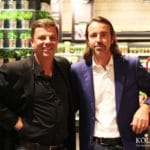 Die Betreiber Lutz und Peter Richrath im exklusivsten REWE Supermarkt in Köln