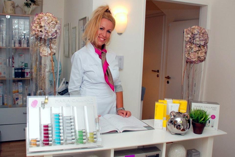 Inhaberin Kosmetikstudio Fältchen: Frau Helene Bongartz