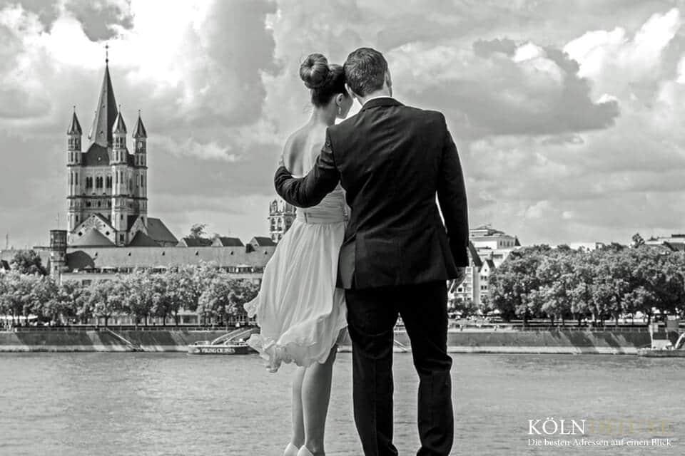 Hochzeitsausstatter in Köln lassen Träume in Erfüllung gehen