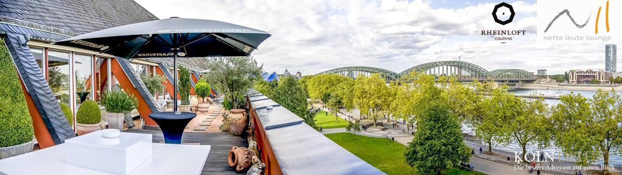 Rheinloft Cologne - Nette Leute Lounge Event