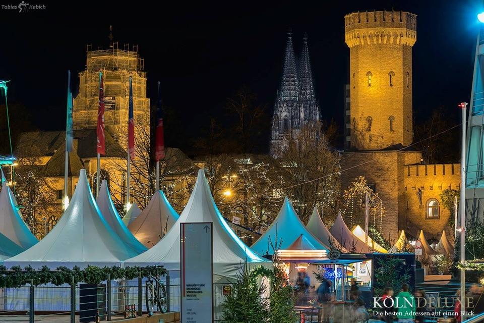 Hafen-Weihnachtsmarkt Schokolademuseum Koeln