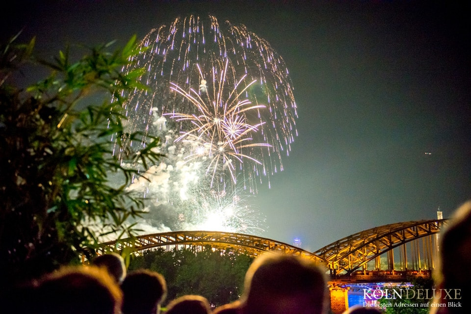 Kölner Lichter Party 2018 im Rheinloft Cologne | All Inclusive!