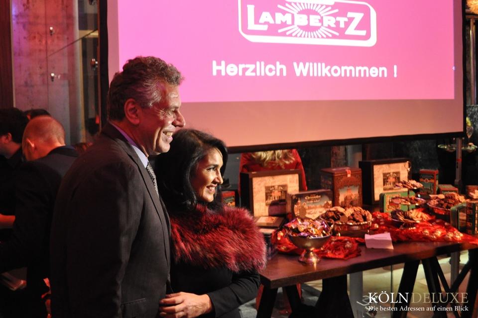 Lambertz Night Jürgen Hingsen Ehefrau auf der Lambertz Night