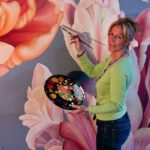 Renate Berghaus Wolkenburg Blumen