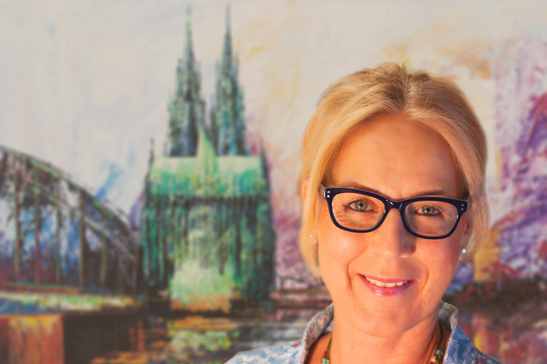 """Kunstaustellung – """"Kölner Vespa Kunst"""" von Renate Berghaus bis 31.12.2017"""