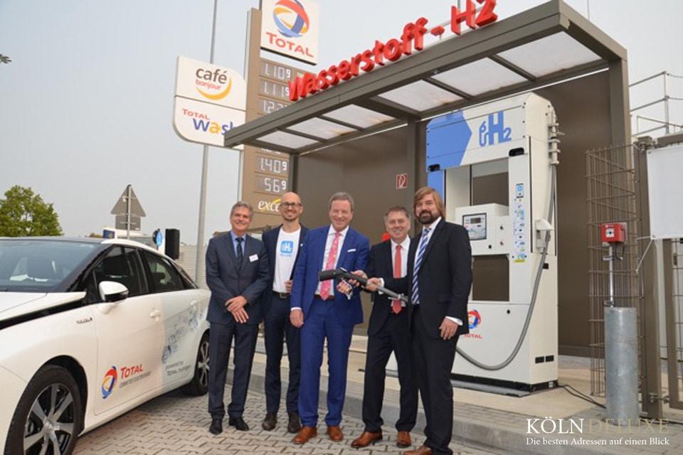 Neue Wasserstofftankstelle in Köln