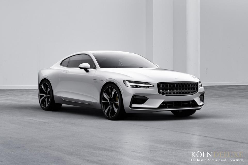Volvo Cars: Erstes Fahrzeug und Blick in die Zukunft: Polestar 1 gibt Startschuss für elektrifizierte Hochleistungs-Marke