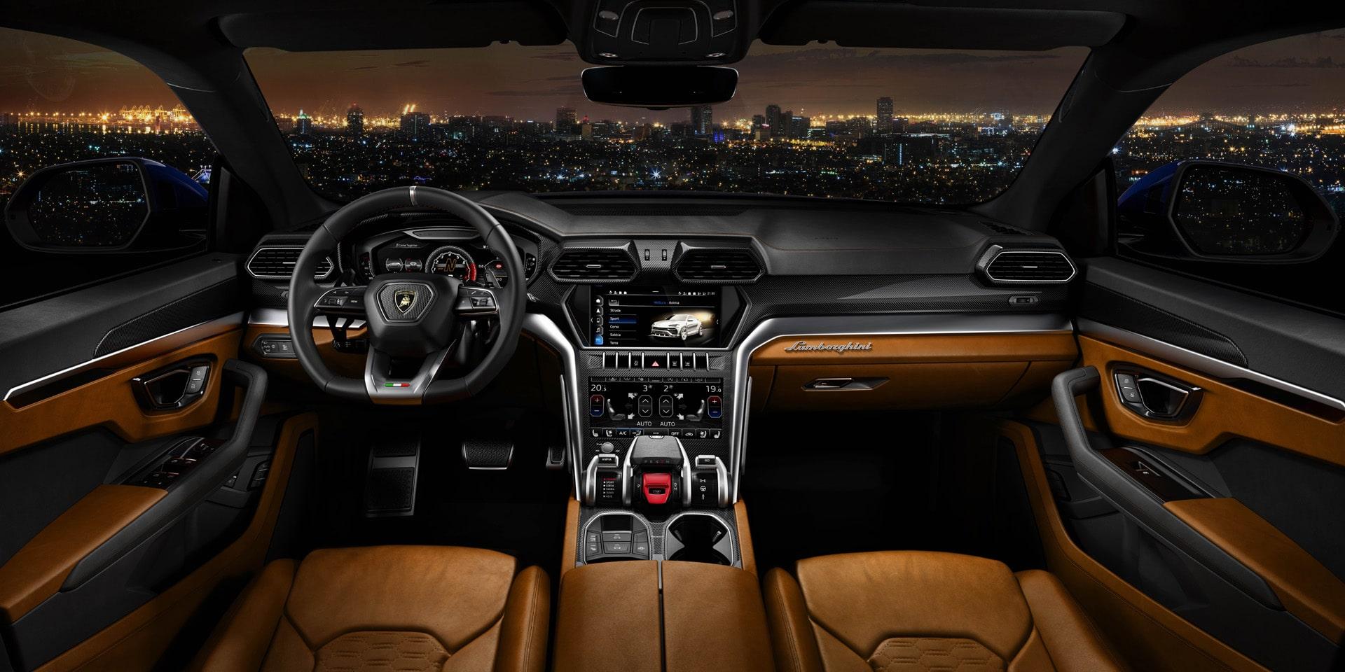 Lamborghini-Urus-Innenraum