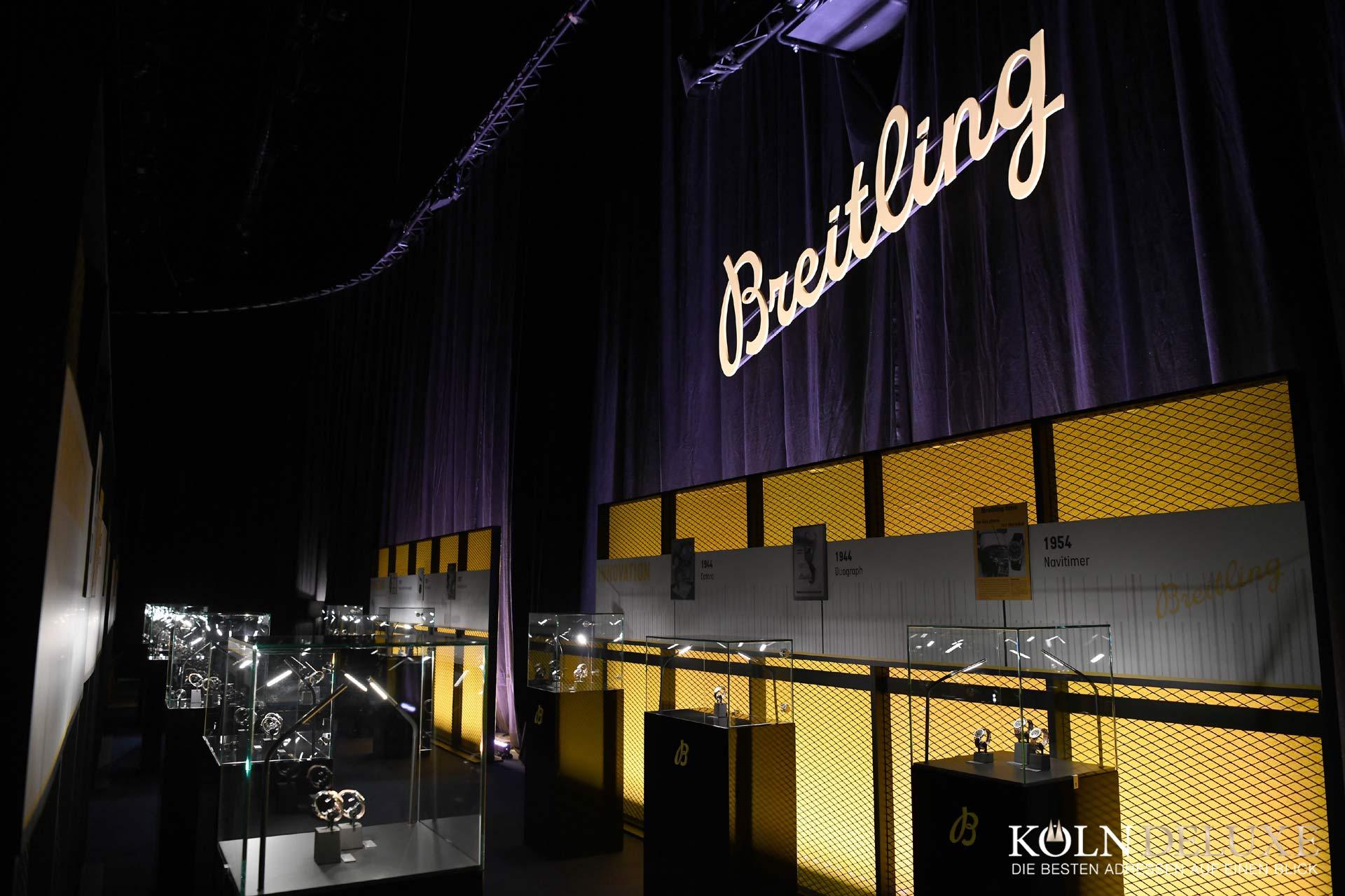 Breitling-Navitimer-Ausstellung