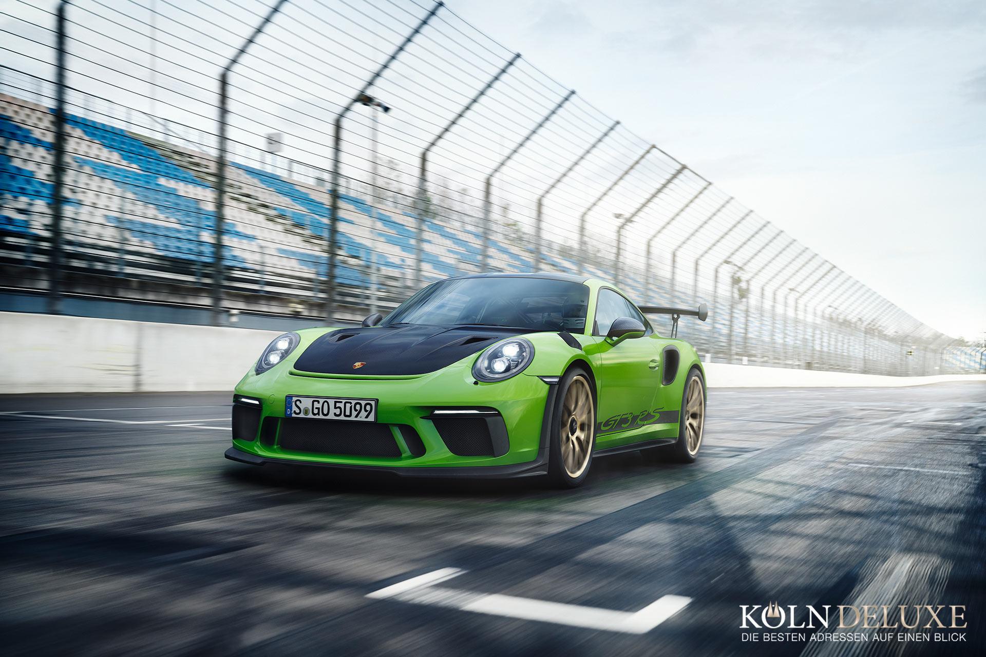 Ganz nah am Rennsport: der neue Porsche 911 GT3 RS