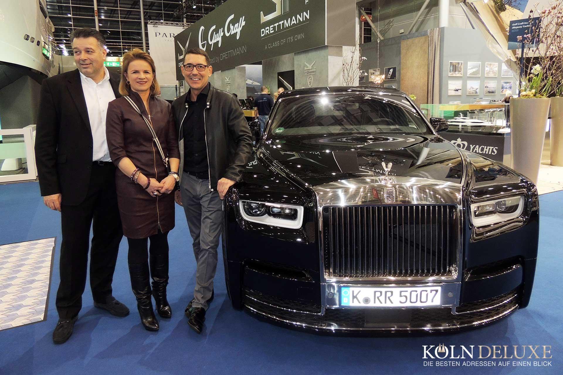 Deutschland-Premiere mit großem Auftritt:  Präsentation des neuen Rolls-Royce Phantom