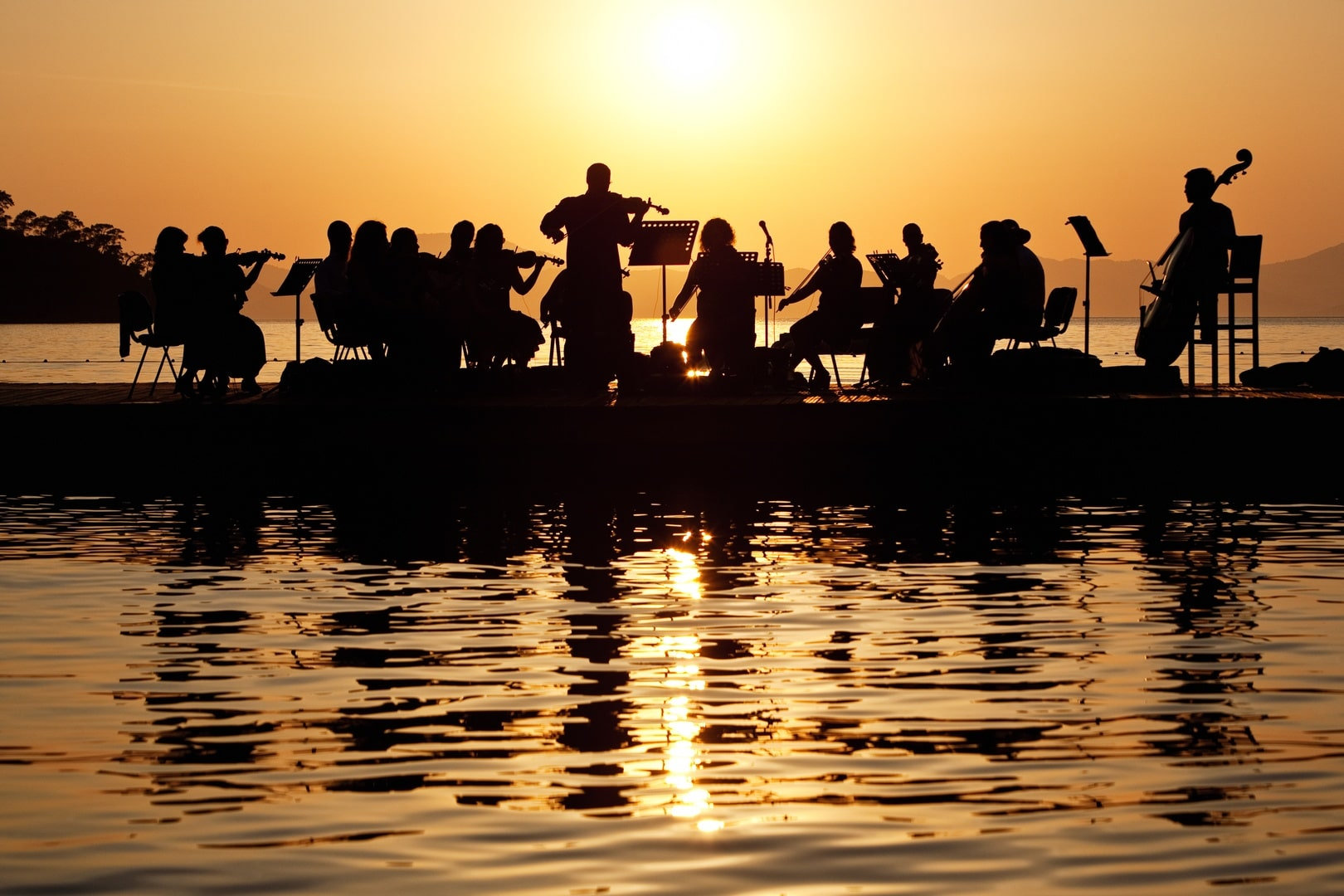 Schwimmendes Konzert (c) Hillside Beach Club
