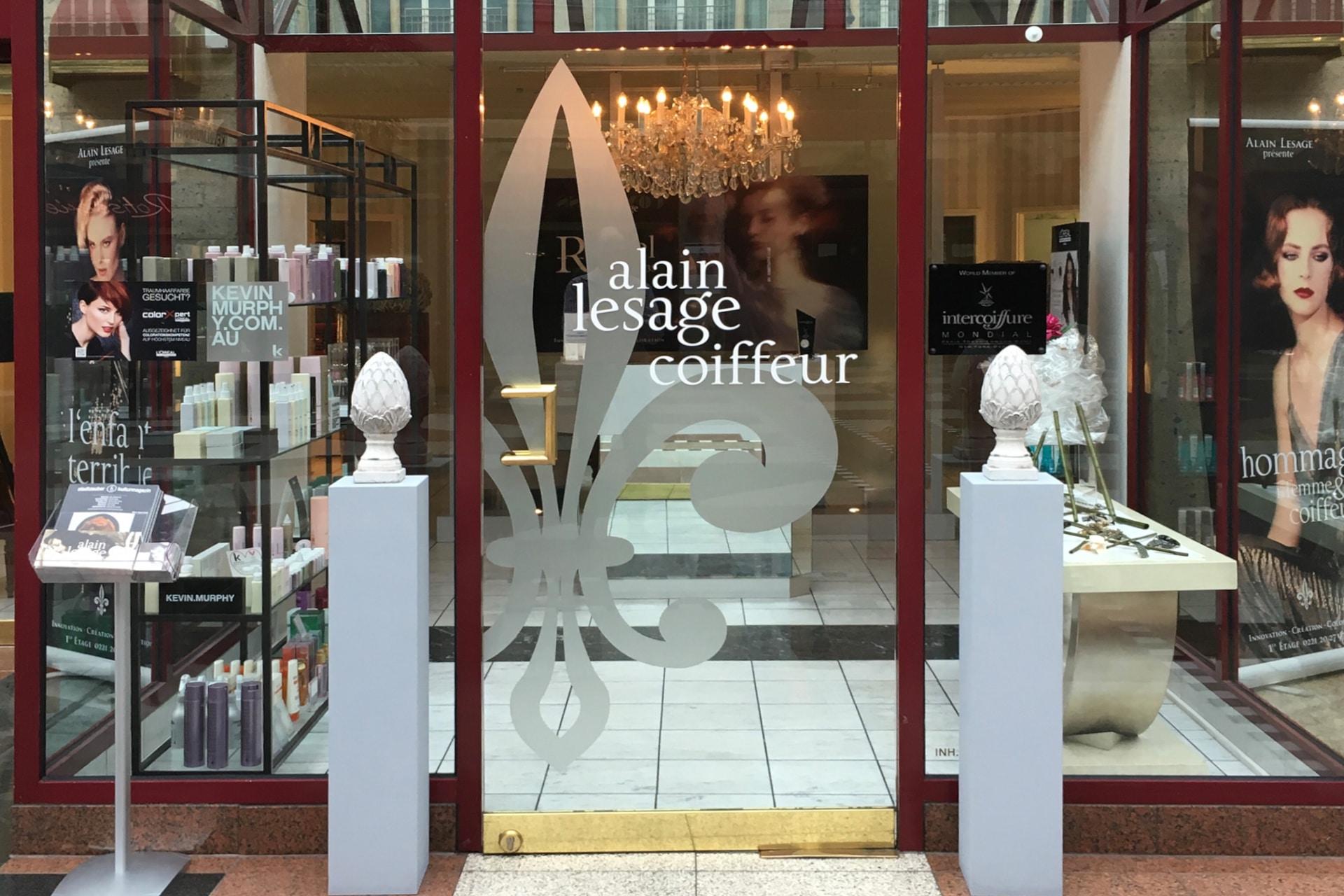 Alain lesage coiffeur salon k ln deluxe die regionale for Miroir salon de coiffure