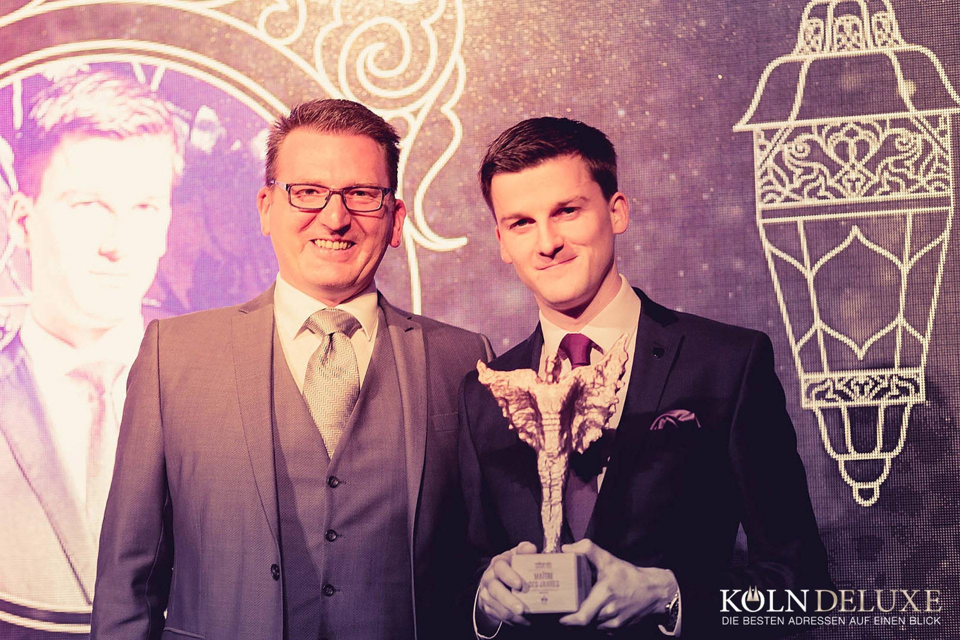 Markus Klaas aus dem Restaurant Vendôme als Maître des Jahres geehrt