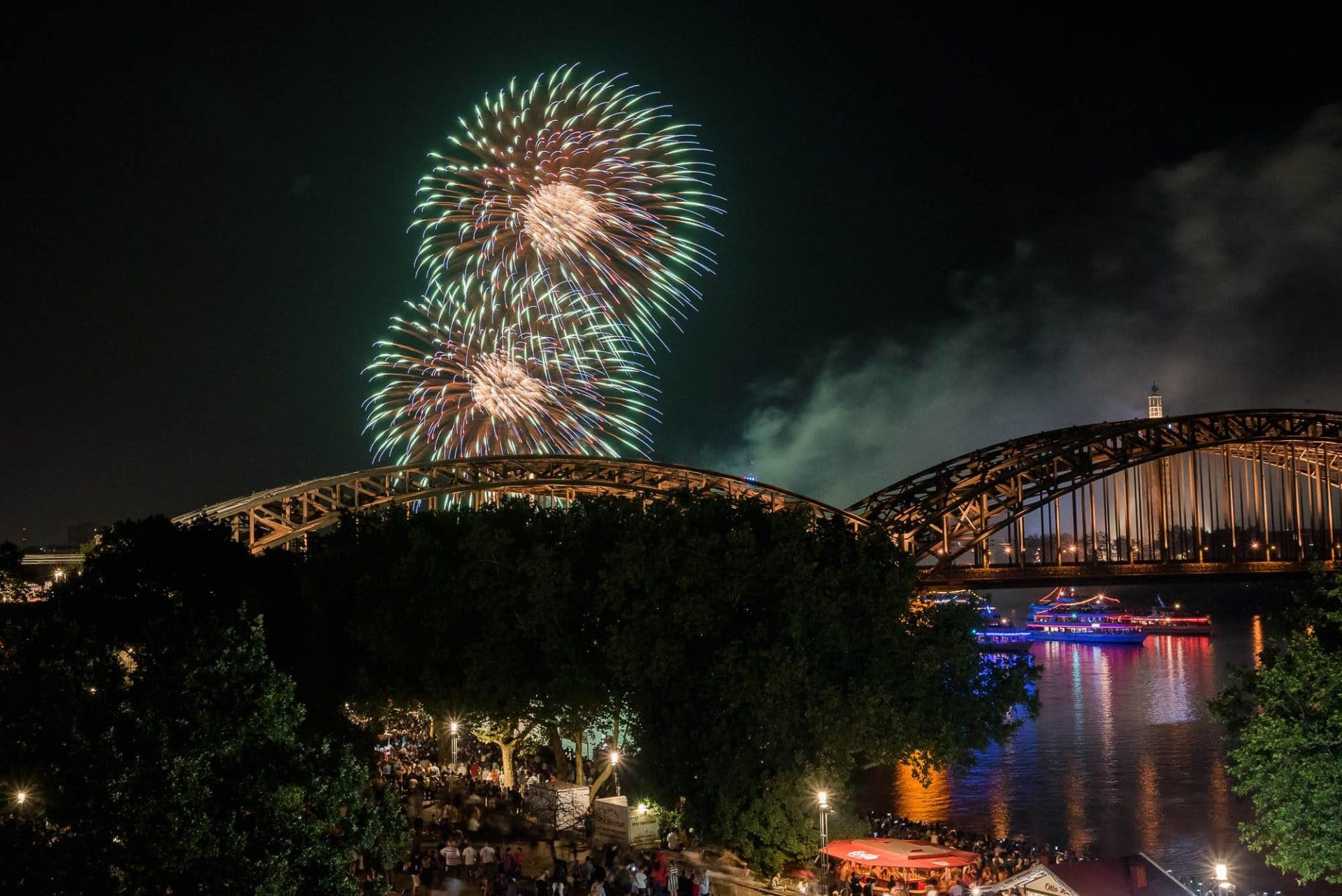 🎆 Kölner Lichter Party 2019 im Rheinloft Cologne | All Inclusive!