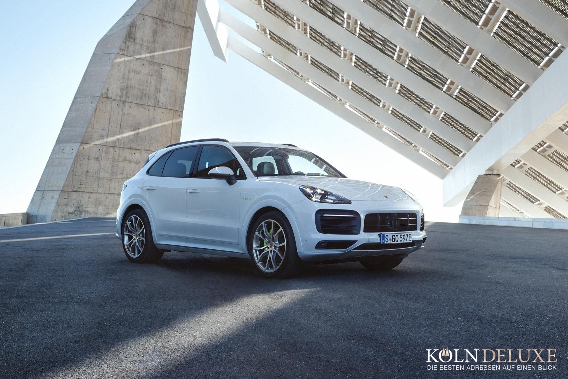 Neuer Porsche Cayenne jetzt auch als Plug-in-Hybrid