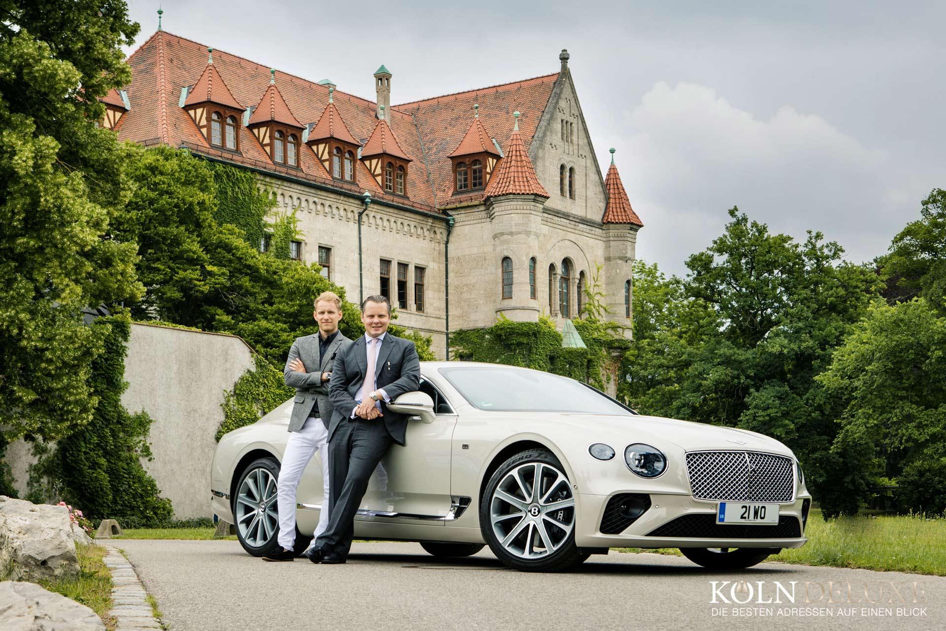 Exklusive Sonderkollektion von Bentley und Graf von Faber-Castell