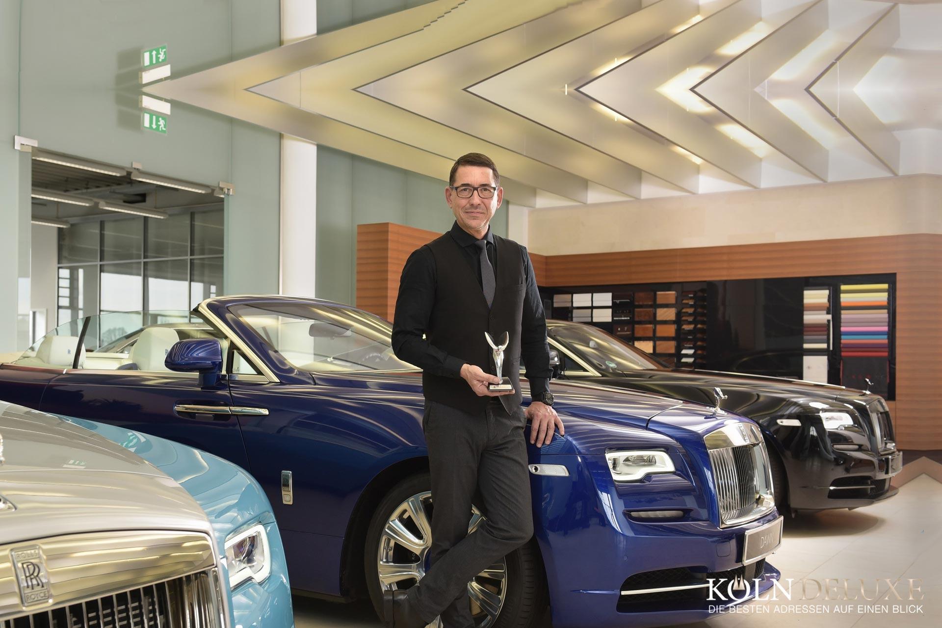 MICHAEL GLEISSNER UND ROLLS-ROYCE MOTOR CARS COLOGNE WEITER AUF ERFOLGSKURS IN KÖLN
