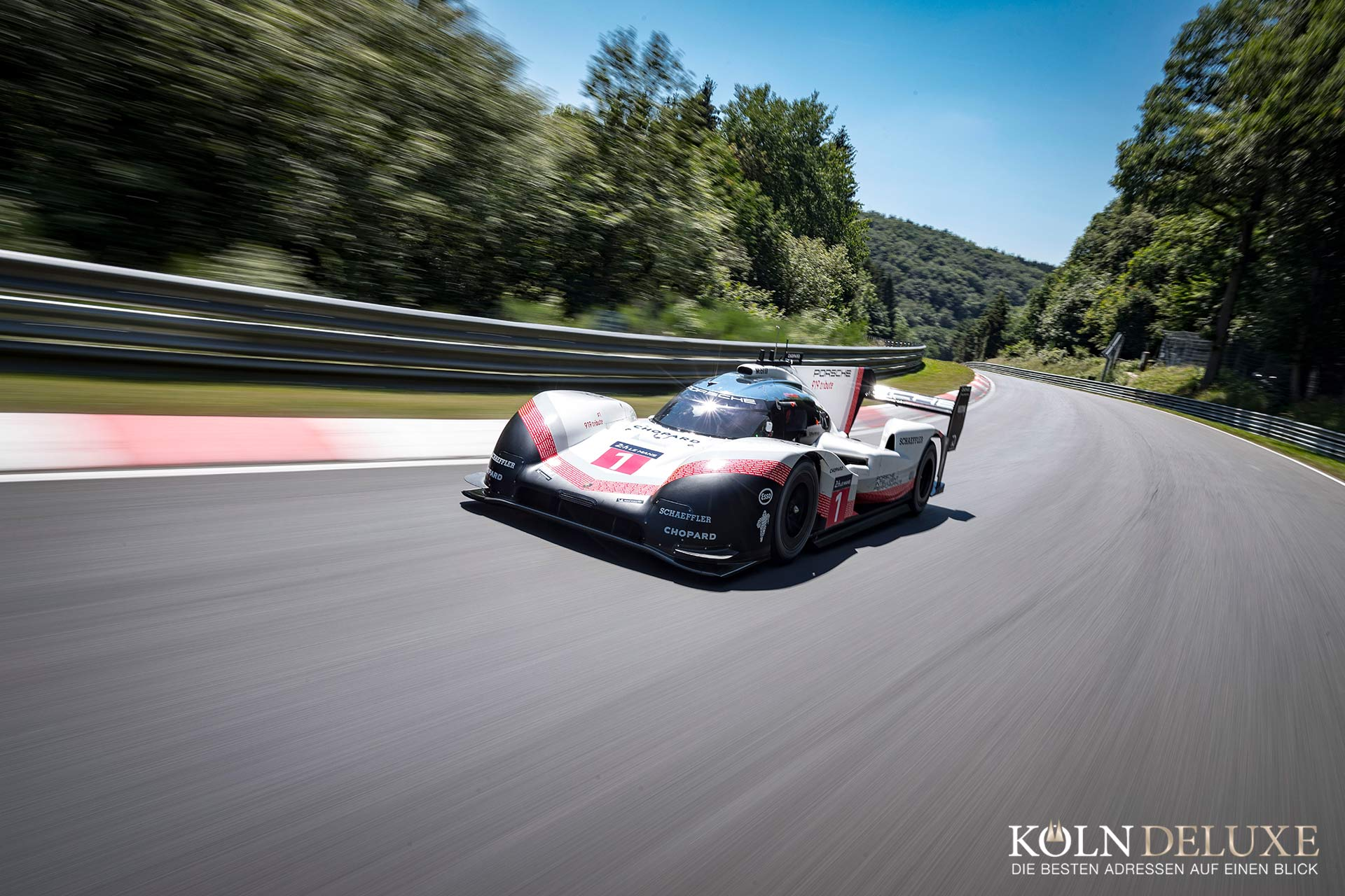 5.19,55 Minuten – Porsche 919 Hybrid Evo holt Rekord in der Grünen Hölle
