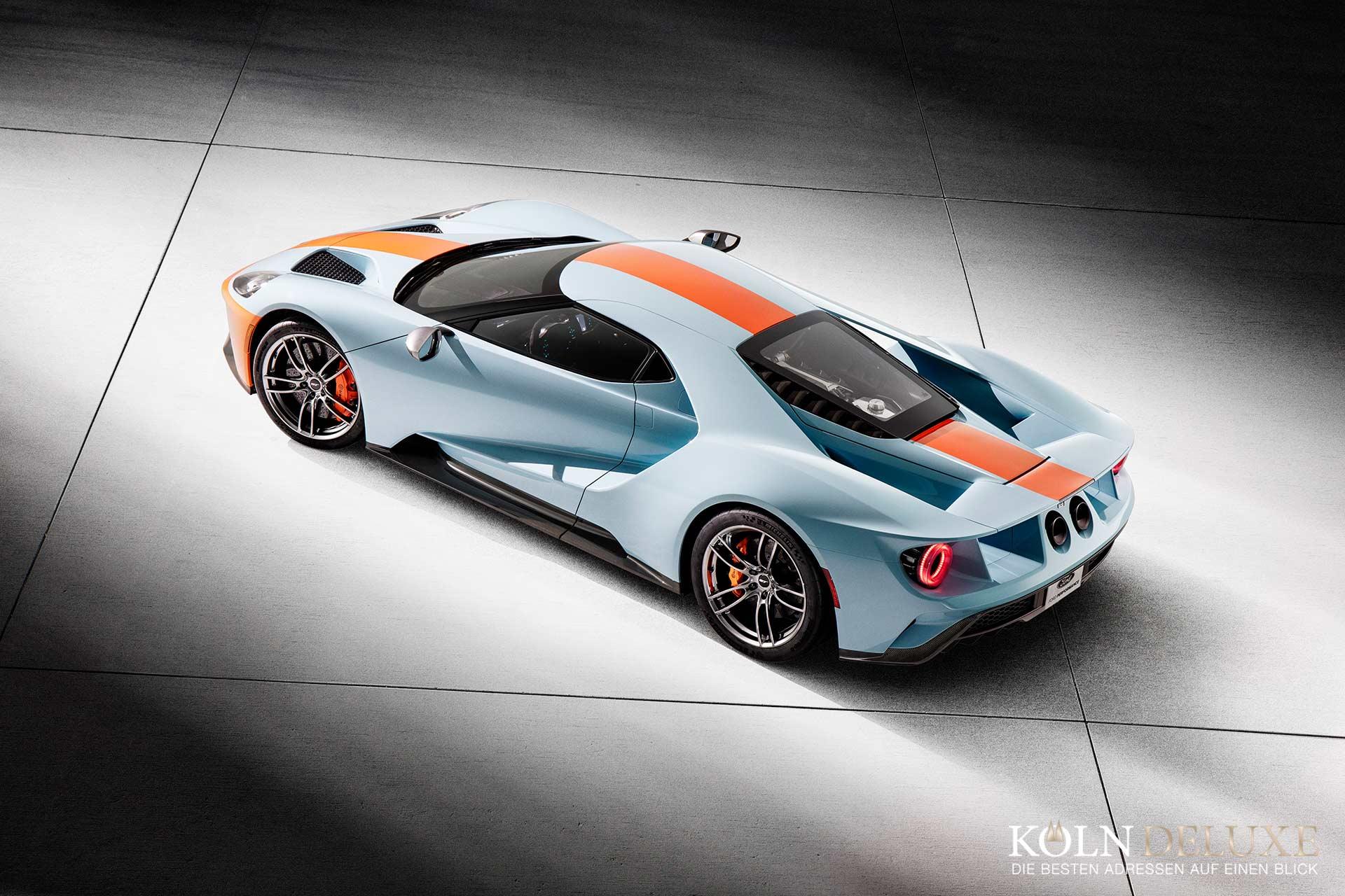 Neues Ford GT Heritage-Editionsmodell ehrt das berühmteste Farbschema der Motorsport-Geschichte