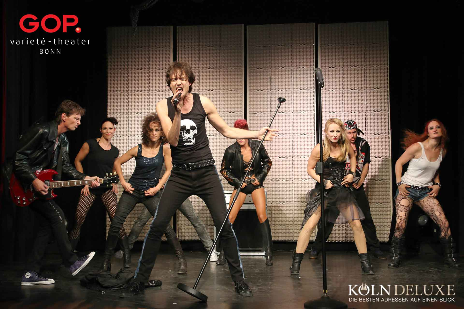 🤘🎸 Rockstar – ehrlich, sexy, wild. Die neue Show im GOP Varieté-Theater Bonn