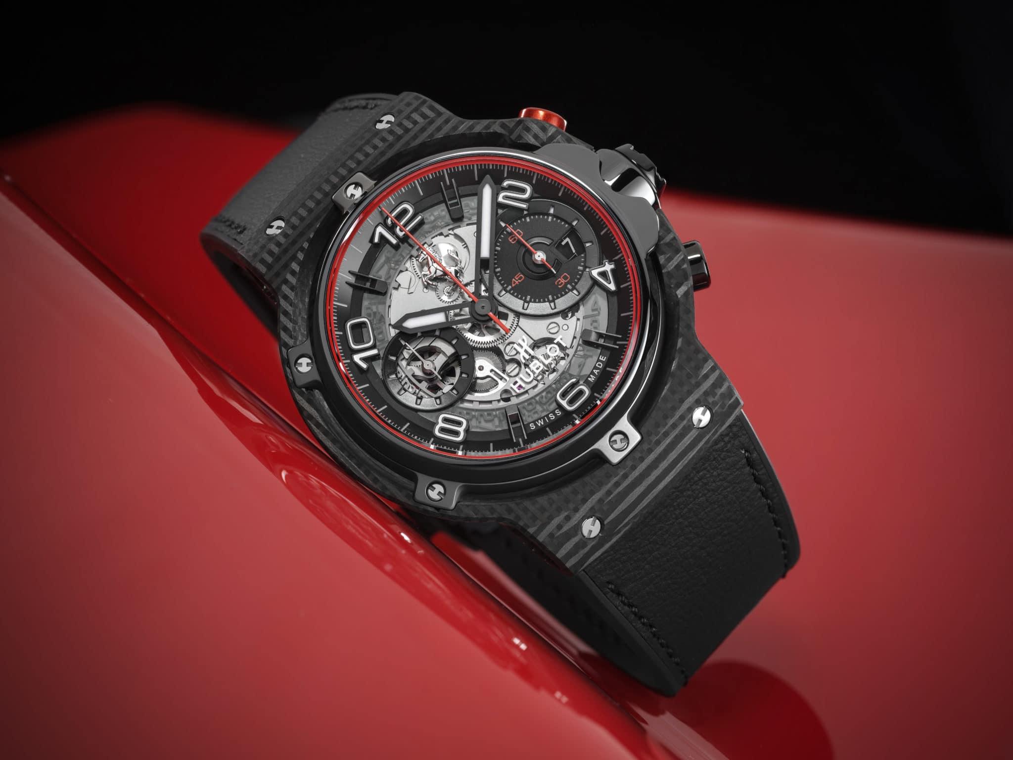 Classic fusion Ferrari GT eroffnet ein neues, innovatives Kapitel in der einzigartigen Partnerschaft von Hublot und Ferrari