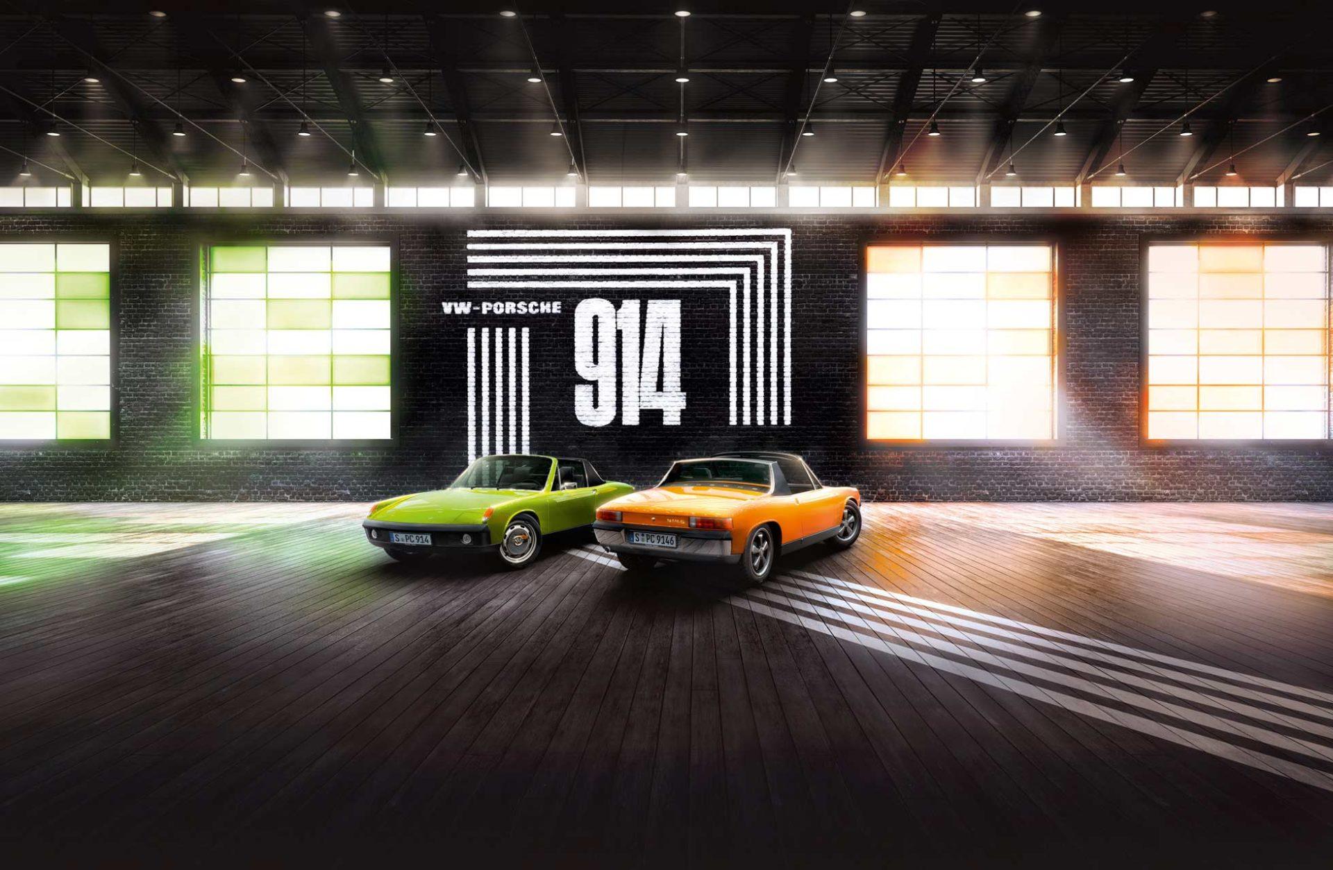 50 Jahre Porsche 914 – Porsche-Jubiläum auf der Techno Classica