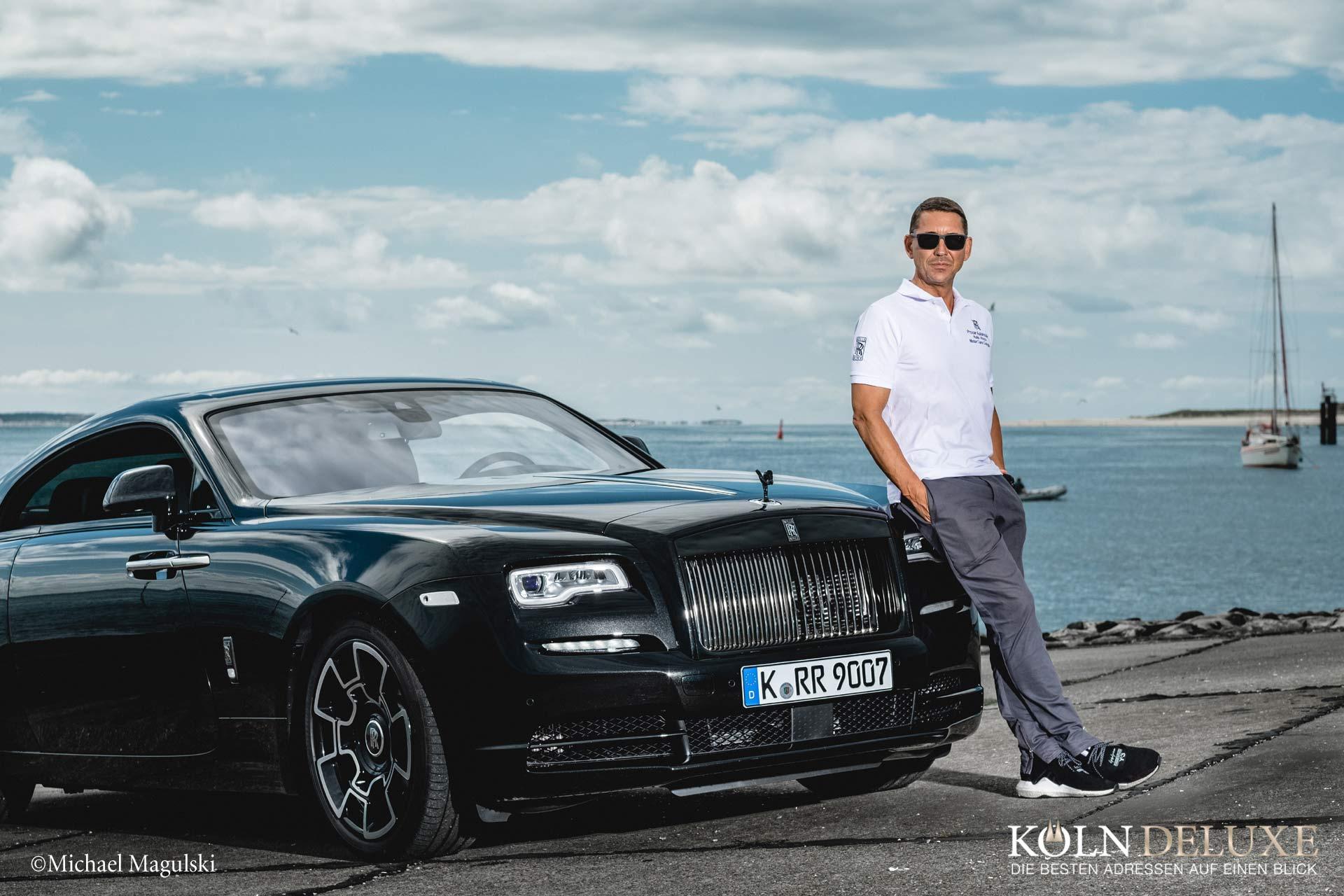 Erneuet Auszeichnung für Rolls-Royce Motor Cars Cologne