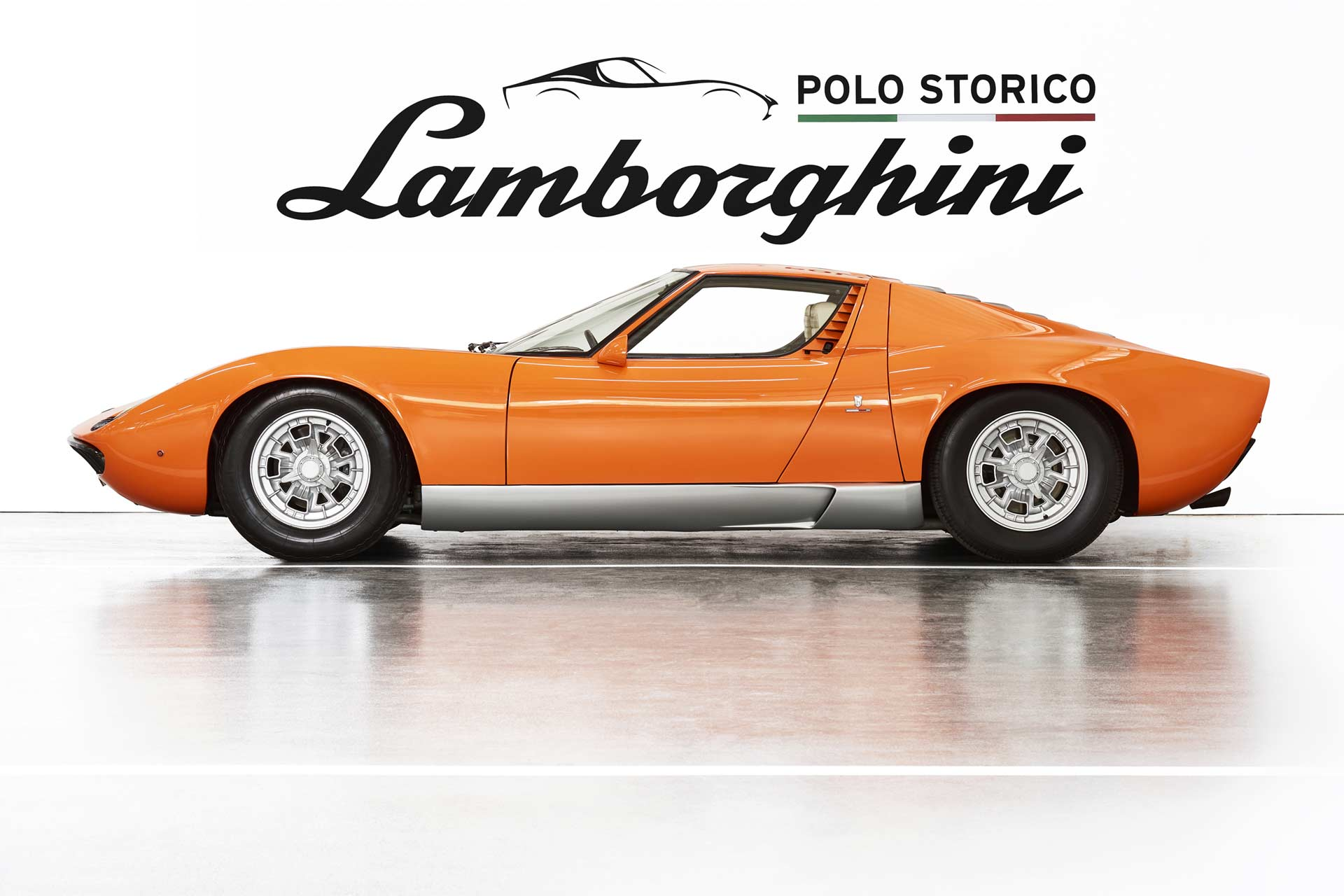 Lamborghini Miura aus «The Italian Job» zurück