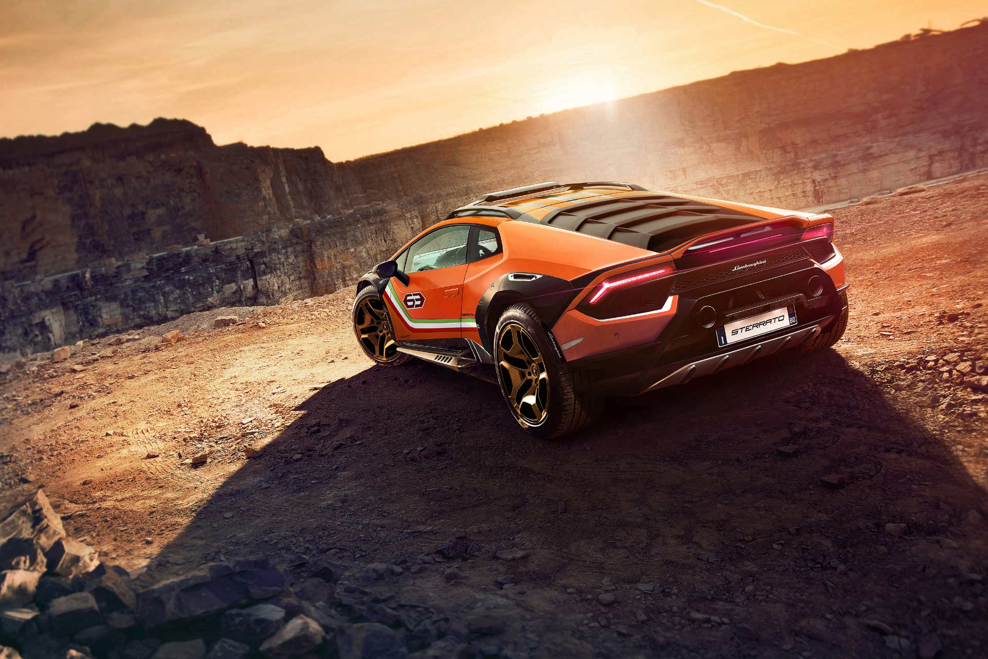 Automobili Lamborghini erobert Neuland mit dem Huracán Sterrato Concept
