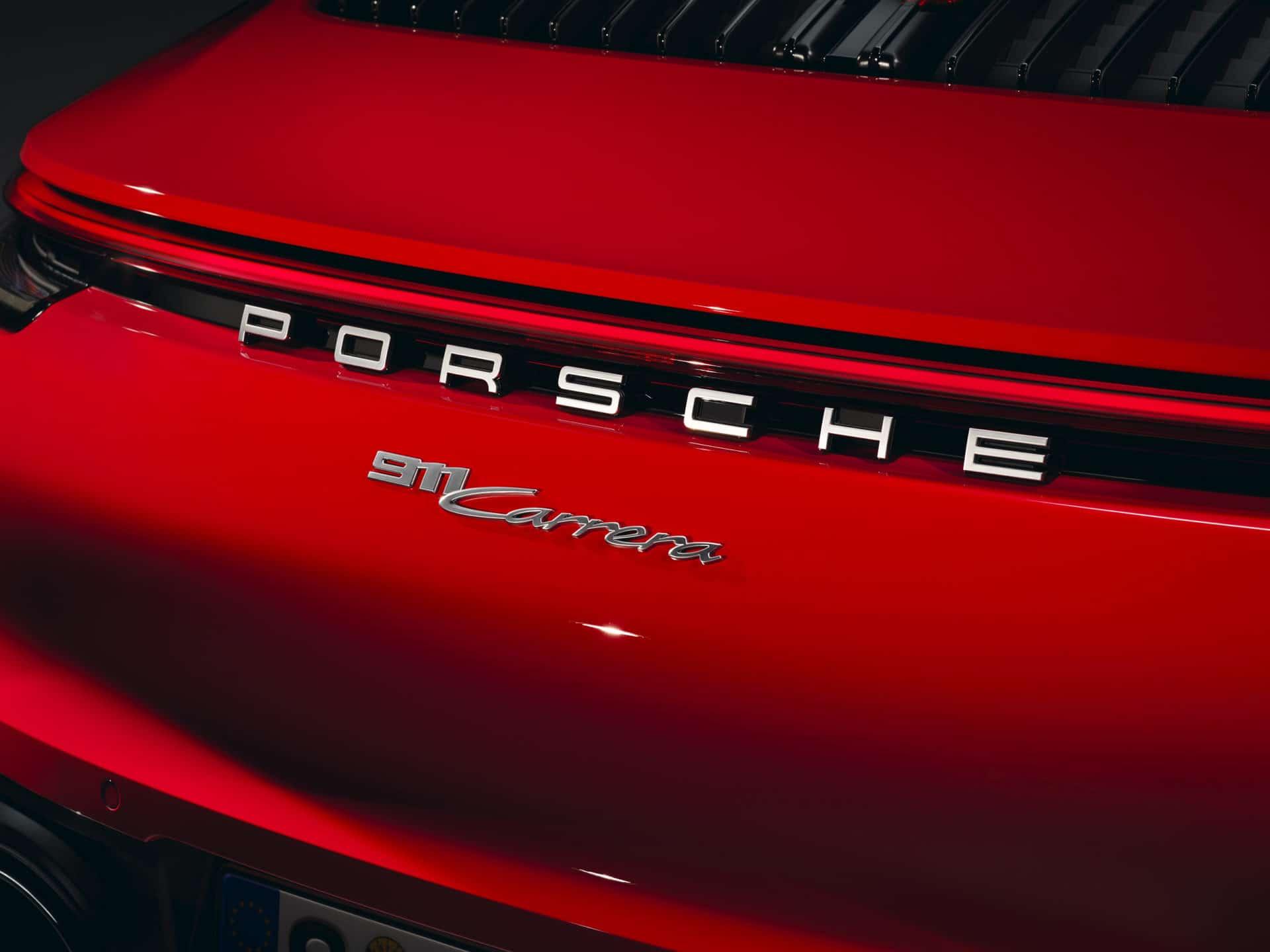 911 Carrera Coupé Heck © Porsche AG