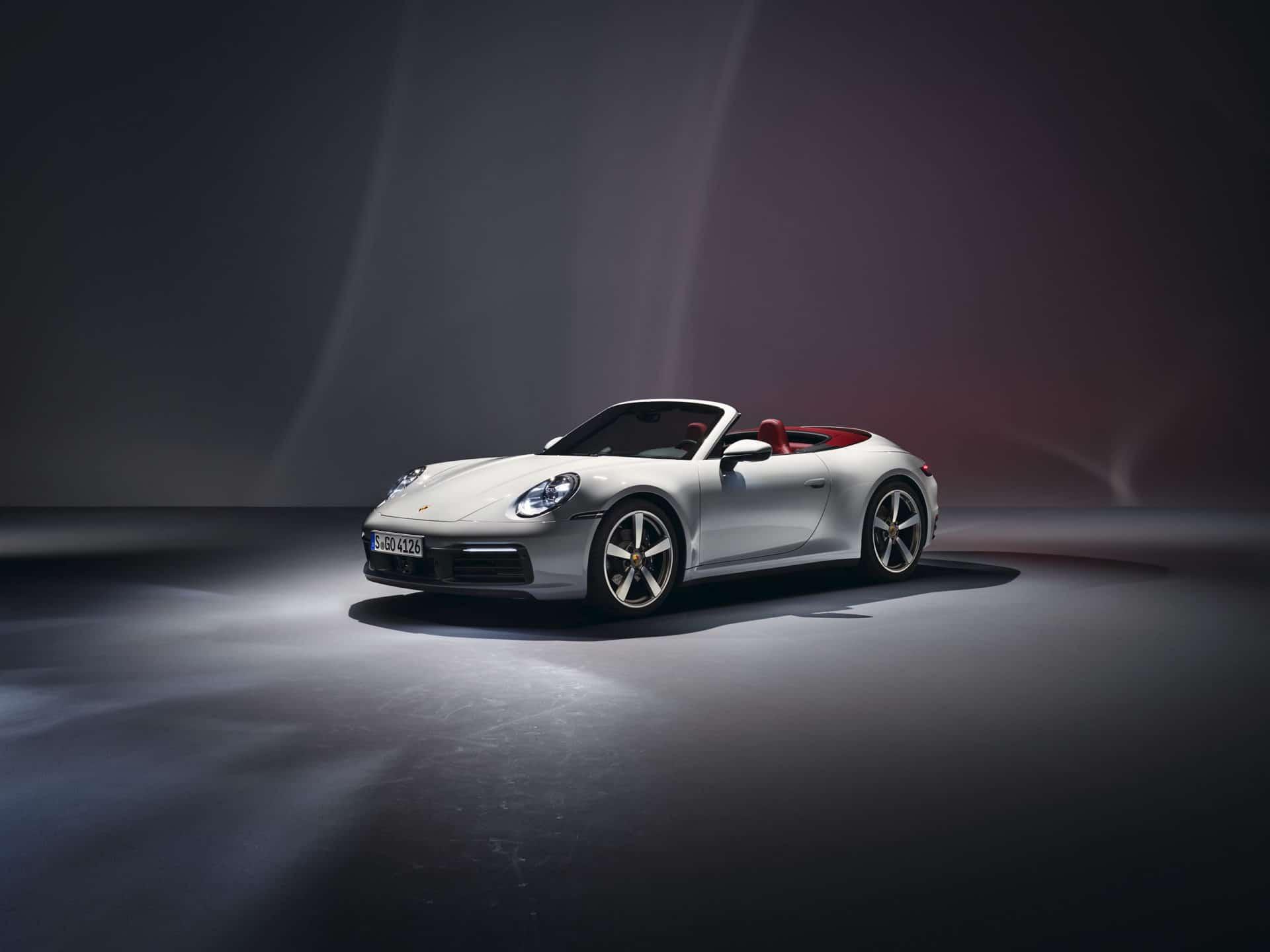 Porsche 911 Carrera Cabriolet © Porsche AG