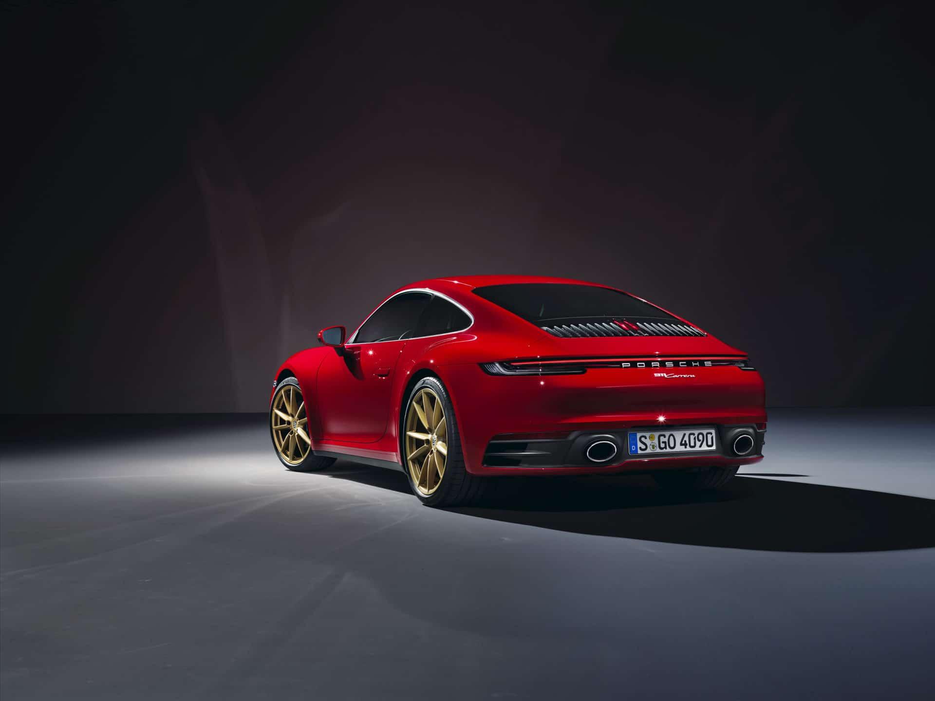 Porsche 911 Carrera Coupe © Porsche AG