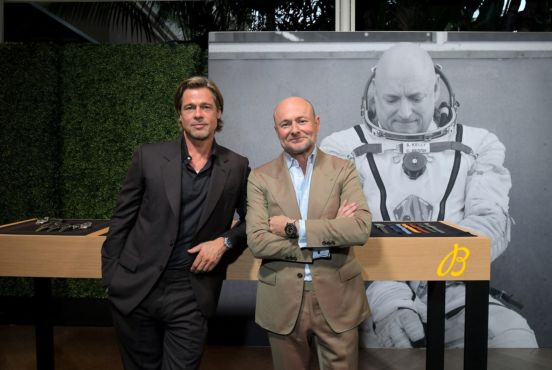 Brad Pitt überrascht Gäste bei Breitling Gipfel