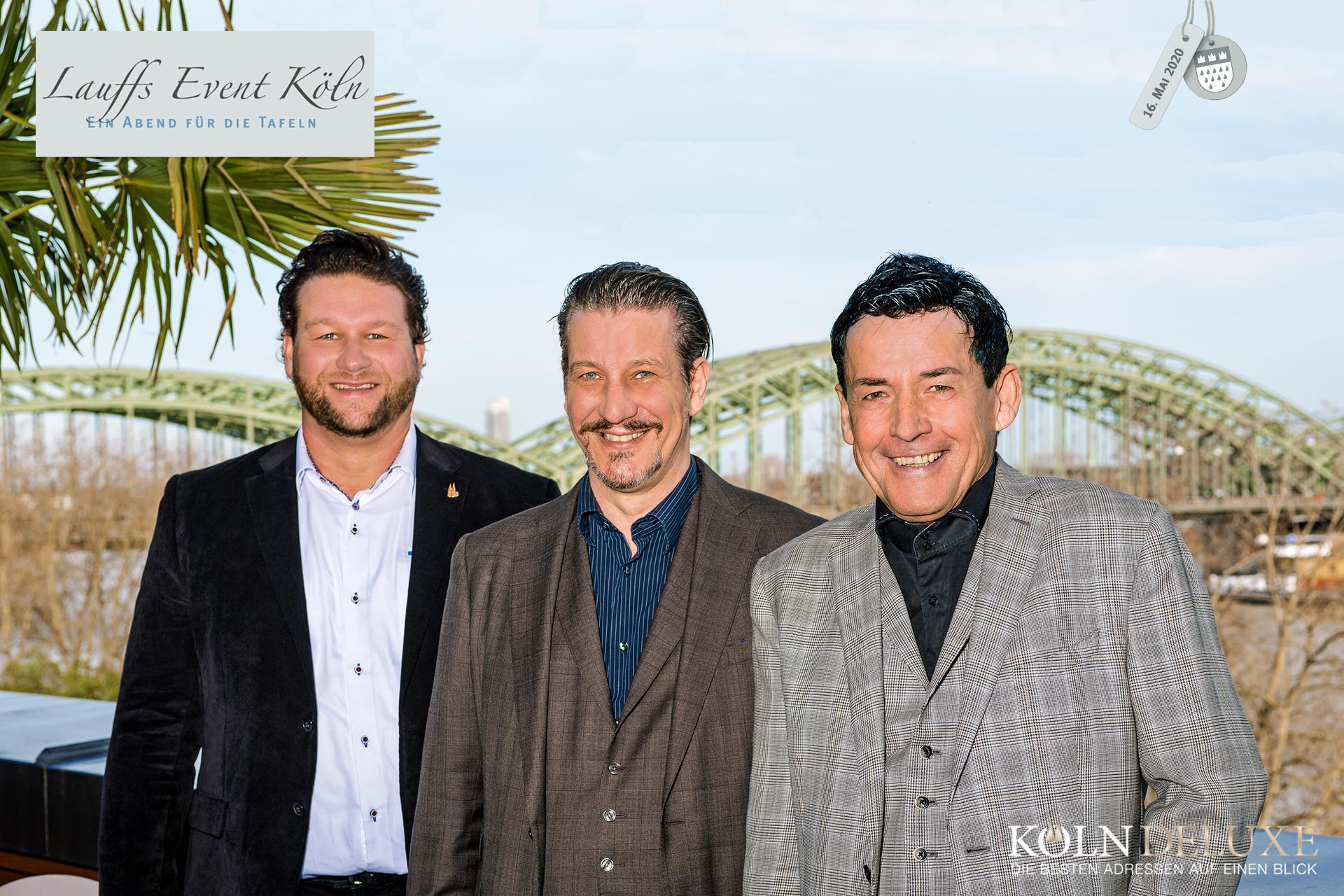 Lauffs Charity Event trifft Rheinloft Cologne & Köln Deluxe