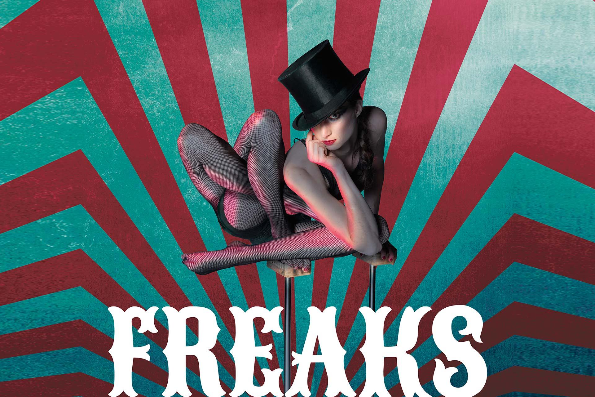 """""""Freaks"""" – Die neue Show ab 5. März im GOP Bonn"""